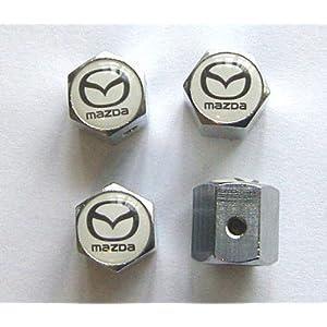 Mazda Anti-theft Car Wheel Tire Valve Stem Caps
