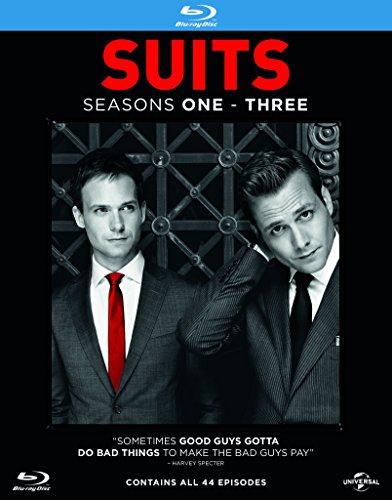 Suits - Season 1-3 [Blu-ray] [2013] [Region Free] (Adam 12 Season 3 compare prices)