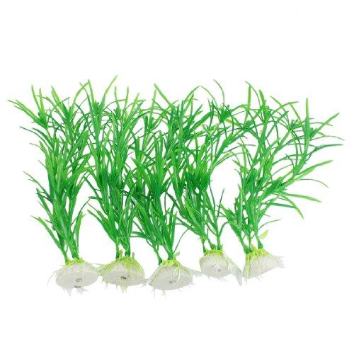 Jardin artificial plastic aquatic decorative grass plant for Artificial pond plants sale