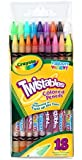 Crayola 18 Twistable Vibrant Coloured Pencils