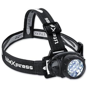 LiteXpress Liberty 102 Lampe frontale 7 LED Nichia 5 mm