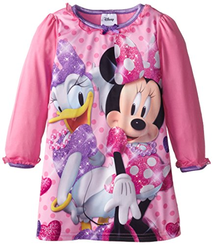 Disney Little Girls' Mouse Minnie And Daisy Bff Nightgown, Multi, 2T
