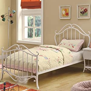 iron bed frame twin gO4EJ0TF