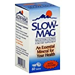 Slow Mag Magnesium Chloride, with Calcium, Tablets, 60 tablets