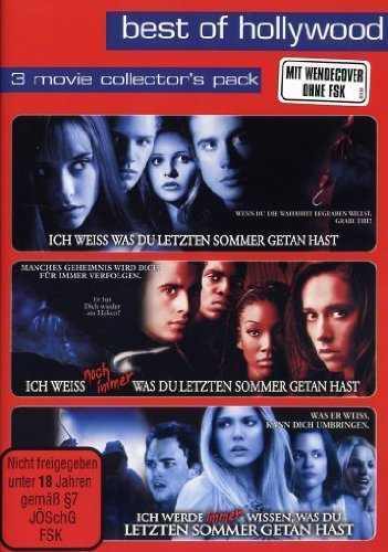 Best of Hollywood - 3 Movie Collector's Pack: Ich weiß, was Du letzten Sommer getan hast 1-3 (3 DVDs)