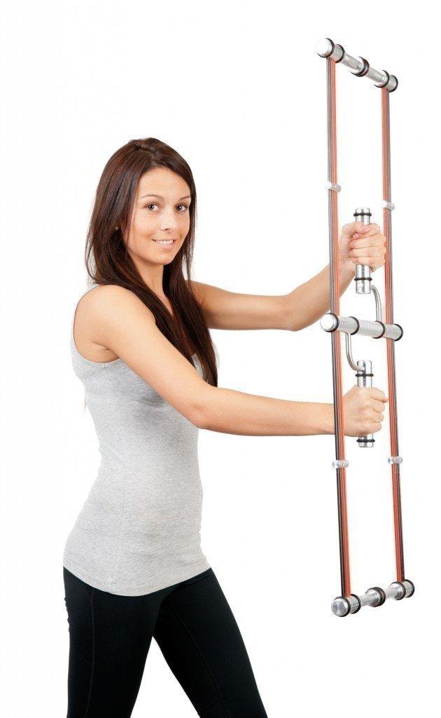 U-Swing / Neuartiges Übungsgerät / Maße: 100 x 36 x 4 cm / Gewicht 2,8 kg / inkl. Übungsposter