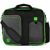 MyVanGody Green Pindar Messenger Bag For Lenovo 12.5 / 13.3 / 14-inch Laptop & Ultrabooks