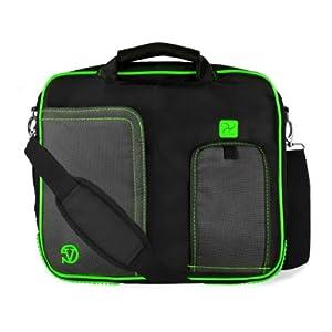 """Pindar Messenger Carrying Bag for Lenovo Tab A10-70 / Lenovo Yoga Tablet 10 HD+ 10.1"""" Tablets (Green )"""