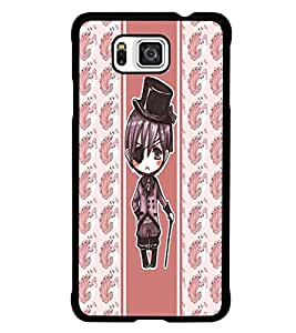 PrintDhaba Fantasy Girl D-5804 Back Case Cover for SAMSUNG GALAXY ALPHA (Multi-Coloured)