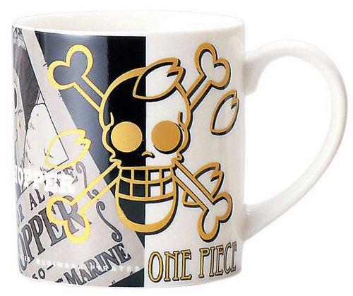 Coffee Mug One Piece Monochrome Mug Chopper (One Piece Chopper Mug compare prices)