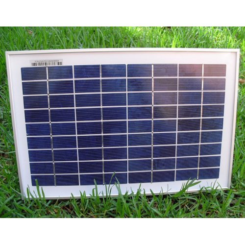GTMax 20 Watt Solar Powered Panel Garden Water Fountain Pump kit with Battery & LED