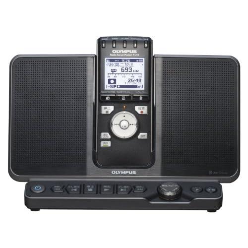 OLYMPUS ICレコーダー機能付ラジオ録音機 ラジオサーバーポケット(スピーカー付きアンテナステーション付属) PJ-35