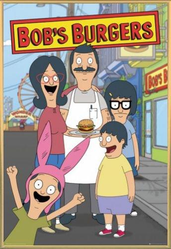 Bob's Burgers Poster Stampa e Cornice (Plastica) - Family (91 x 61cm)
