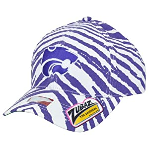 NCAA Kansas State Wildcats Top of the World Smash Zubaz Zebra Snapback Hat Cap