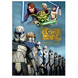 Star Wars: The Clone Wars - Seasons 1-5