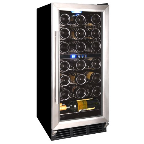 Vinotemp VT-TC32SB 32-Bottle Wine Cooler with Digital Display