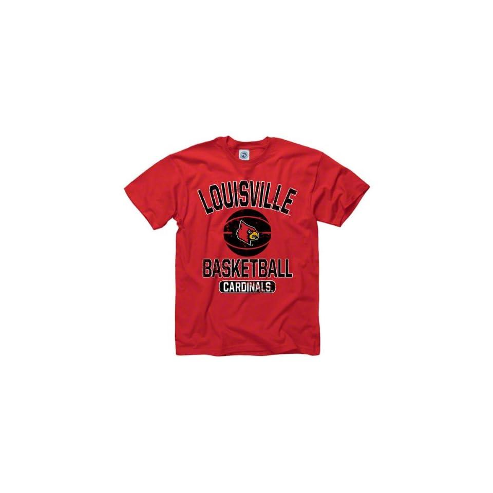 Louisville Cardinals Red Youth Ballin T Shirt