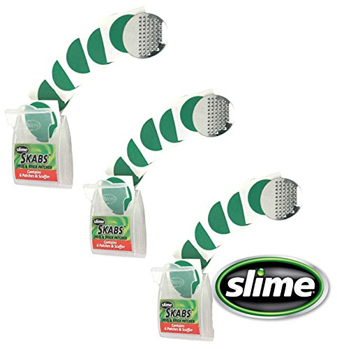 slime-skabs-6-peel-and-stick-puncture-repair-patches-for-bike-tubes-3-pack