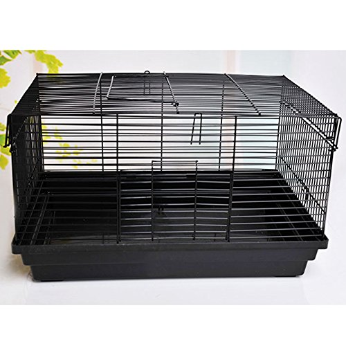FAREN Large Hamster Habitat Small Animals Cage Travel Portable Pet Carrier 18.11×11.81×10.63inch 51 xzySEk0L