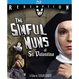 The Sinful Nuns of St. Valentine: Remastered Edition [Blu-ray]