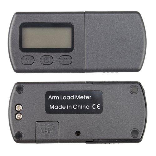 Signstek Blue LCD Backlight Digital Long-Playing LP Turntable Stylus Force Scale Gauge Tester
