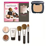 R230 Ready (SPF 20) BareMinerals 8-Piece Get Started Kit - Set includes: 1x Original Mineral Veil, 1x Warmth All Over Face Colour, 1x Full Flawless Face Brush, 1x Flawless Application Face Brush, 1x Maximum Coverage Concealer Brush, 1x Prime Time Foundat