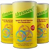 Almased Nutritional Multi Protein Shake Powder, 17.6 oz, 3 Pack