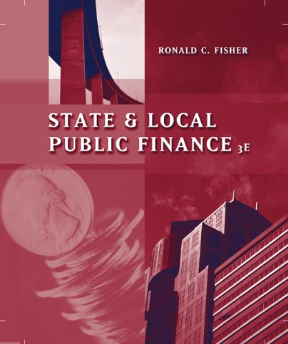 State and Local Public Finance (with InfoTrac)