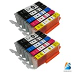 10 PacK Compatible Ink Cartridge Repl...
