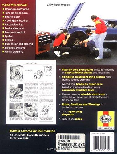 Chevrolet Corvette 1968-82 Automotive Repair Manual (USA service & repair manuals)