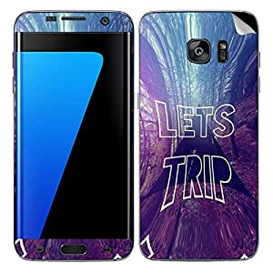 Theskinmantra Lets Trip SKIN/STICKER/DECAL for Samsung Galaxy S7 Edge