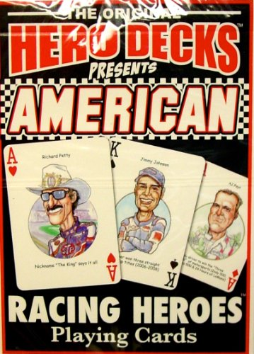 American Racing Heroes, Hero Deck Playing Cards, Edition 2