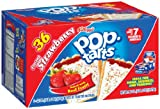 KELLOGGS POP TARTS FROSTED STRAWBERRY - 36 TOASTER PACK - AMERICAN