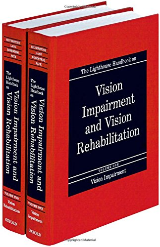 The Lighthouse Handbook on Vision Impairment and Vision Rehabilitation (2-Volume Set + Free CD-ROM with Return of Enclosed Card)