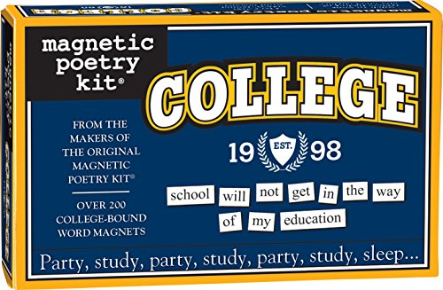 Magnetic Poetry College Magnetic Poetry Kit