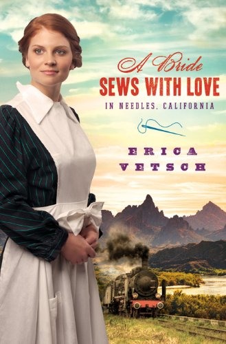 Image of A BRIDE SEWS WITH LOVE IN NEEDLES, CALIFORNIA (Brides & Weddings)