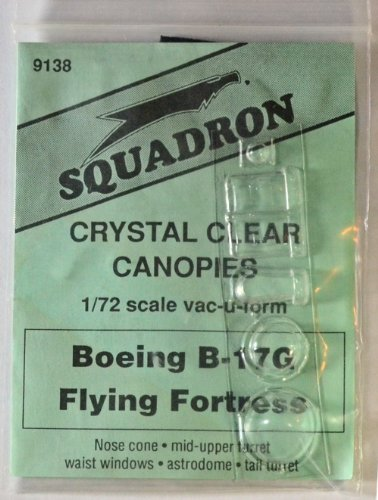 Squadron Products B-17G Vacuform Canopy #2
