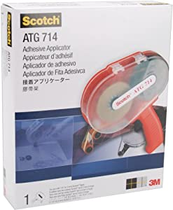 "3M Scotch Atg714 Adhesive Applicator-For .25"" Tape (Pack Of 1)"