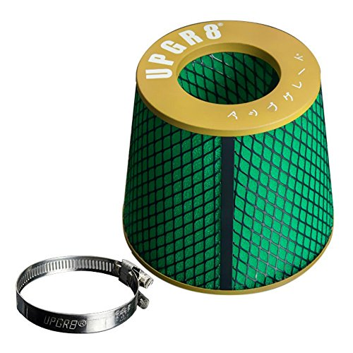 Upgr8 Universal Super High Dry Flow Air Filter Intake Cone (3.0