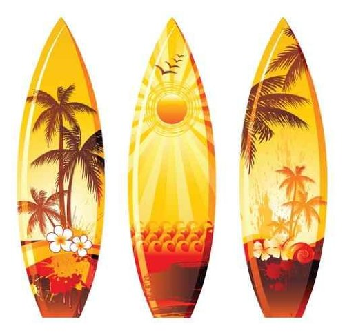 3 Surf Boards - 48