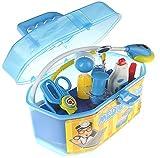 Spielzeug Arztkoffer mit umfangreichem, funktionierendem Zubehör (blau) thumbnail