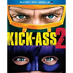 Kick-Ass 2 (Blu-ray + DVD + Digital HD with UltraViolet)