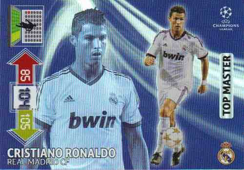 Champions League Adrenalyn XL 2012 2013 Cristiano Ronaldo 12 13 Top