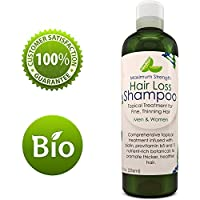 Anti-Hair Loss Shampoo Hair Loss Fighting Formula Natural Treatment Regrow Hair Anti-Dandruff Anti-Breakage Active...