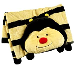 Plush Animal Pillow Blanket : Amazon.com: My Pillow Pets Plush Blanket: Bumblebee: Toys & Games