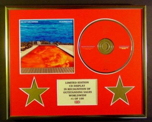 RED HOT CHILI PEPPERS/CD Display/Limitata Edizione/Certificato di autenticità/CALIFORNICATION