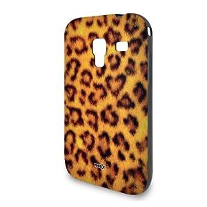 Handyschale Handycase für Samsung Galaxy Ace Plus S7500 veredelt mit YOUNiiK Styling Skin - Leopard