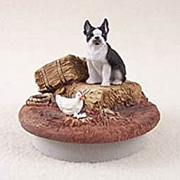 Boston Terrier Candle Topper Tiny One \
