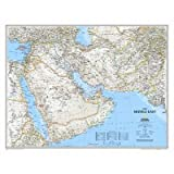 Afghanistan/Pakistan/Middle East Map Map Type: Laminated