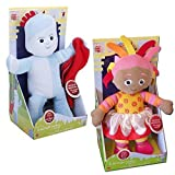 In The Night Garden 28cm Large Talking Iggle Piggle & Upsy Daisy Soft Plush Toy